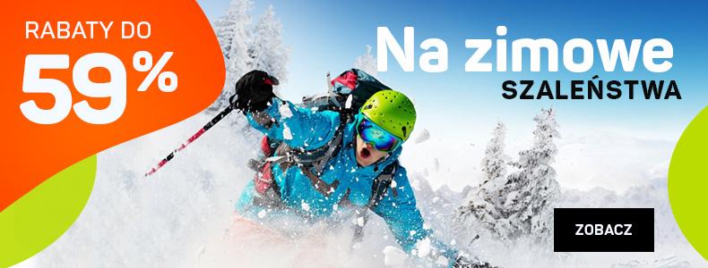 Sport Shop: wyprzedaż do 59% rabatu na akcesoria i sprzęt do sportów zimowych