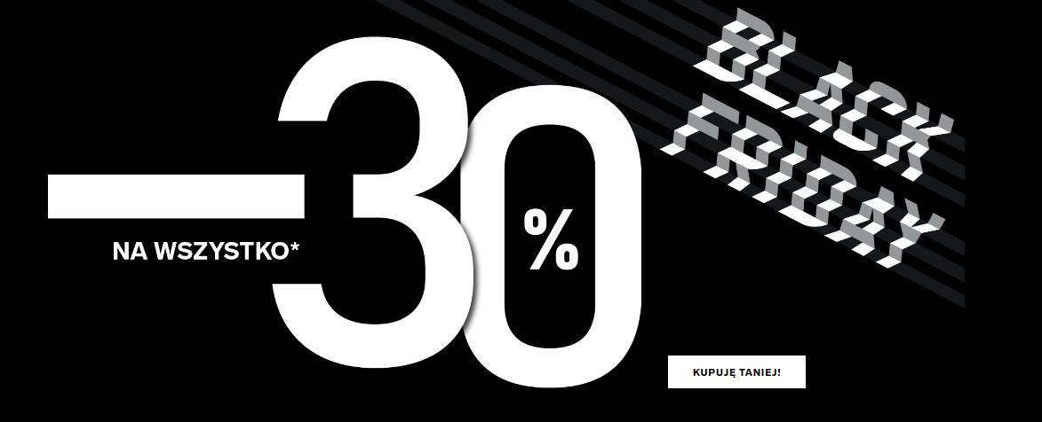 4F 4F: Black Friday 30% zniżki na odzież i obuwie sportowe