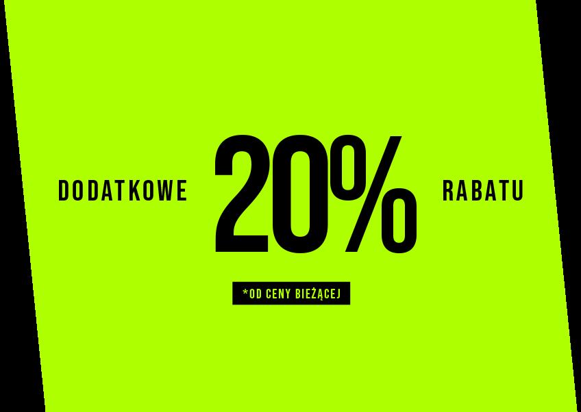 4F: dodatkowe 20% rabatu na odzież sportową przy zakupie min. 2 produktów