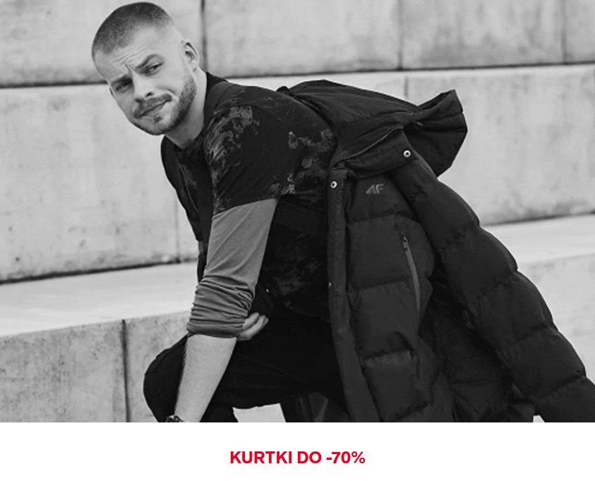 4F: wyprzedaż do 70% zniżki kurtki damskie oraz męskie