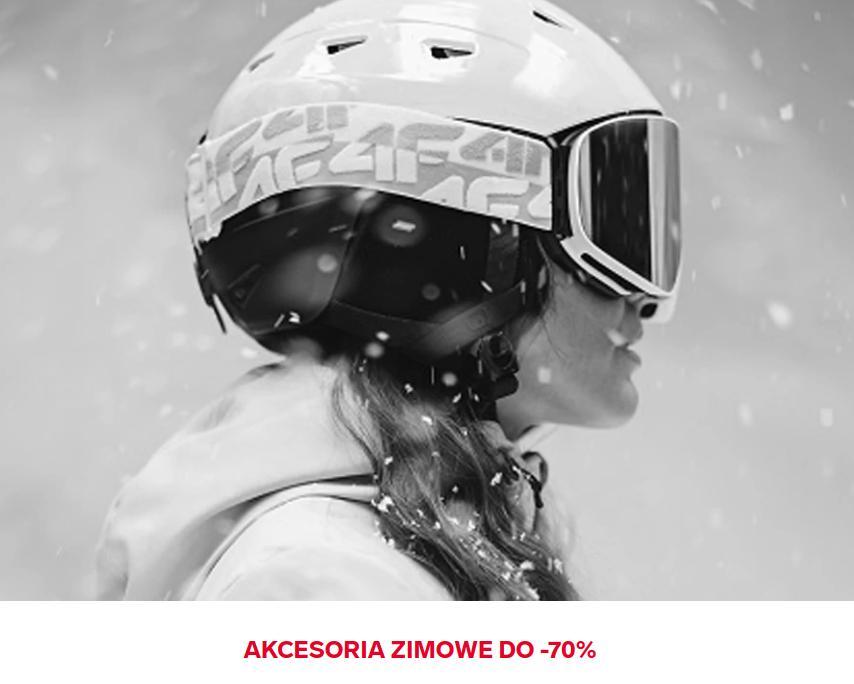 4F: wyprzedaż do 70% rabatu na akcesoria zimowe