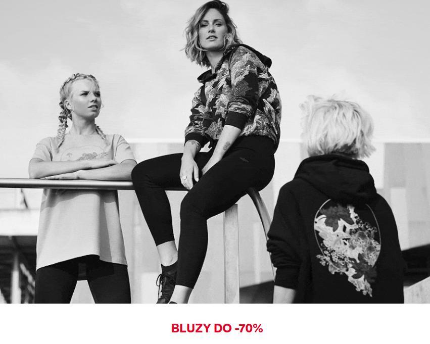 4F: do 70% zniżki na bluzy damskie oraz męskie