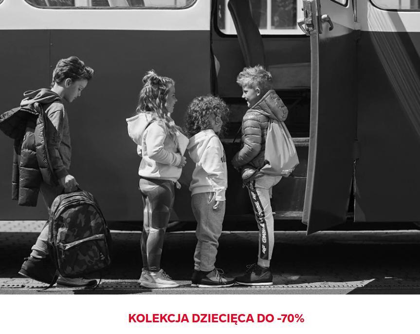 4F: wyprzedaż do 70% rabatu na kolekcję odzieży dziecięcej