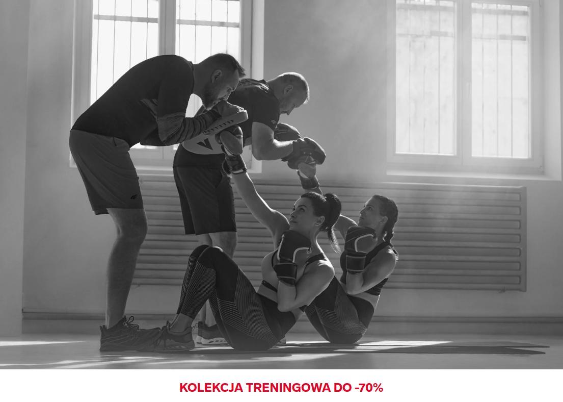 4F: wyprzedaż do 70% rabatu na odzież treningową