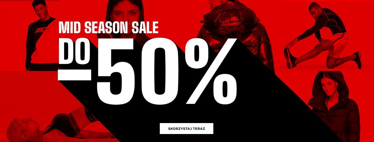 4F: sezonowa wyprzedaż do 50% zniżki na odzież, obuwie oraz akcesoria sportowe