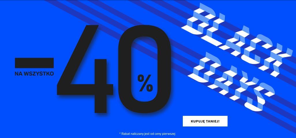 4F: Black Days 40% rabatu na odzież i obuwie damskie, męskie oraz dziecięce