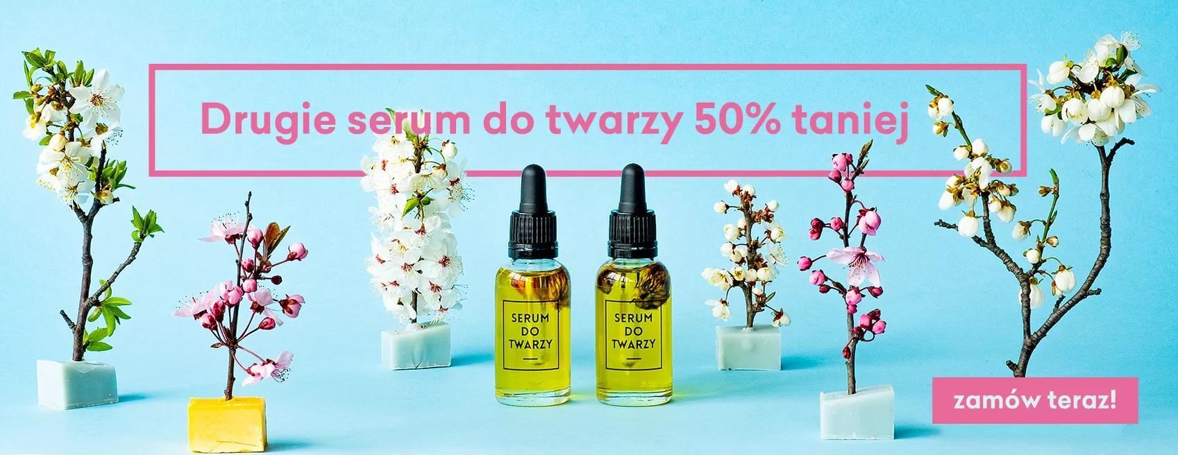4 Szpaki 4 Szpaki: 50% zniżki na drugie serum do twarzy