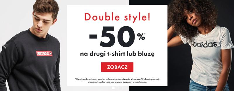 50Style: 50% zniżki na drugi t-shirt lub bluzę