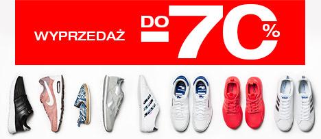 50Style: wyprzedaż do 70% zniżki na buty i ubrania sportowe