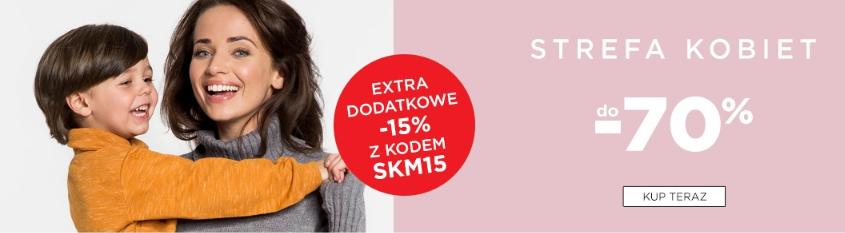 5.10.15.: dodatkowe 15% rabatu na odzież dla kobiet