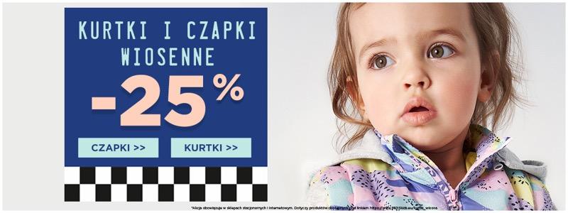 5.10.15.: 25% rabatu na kurtki i czapki wiosenne                         title=