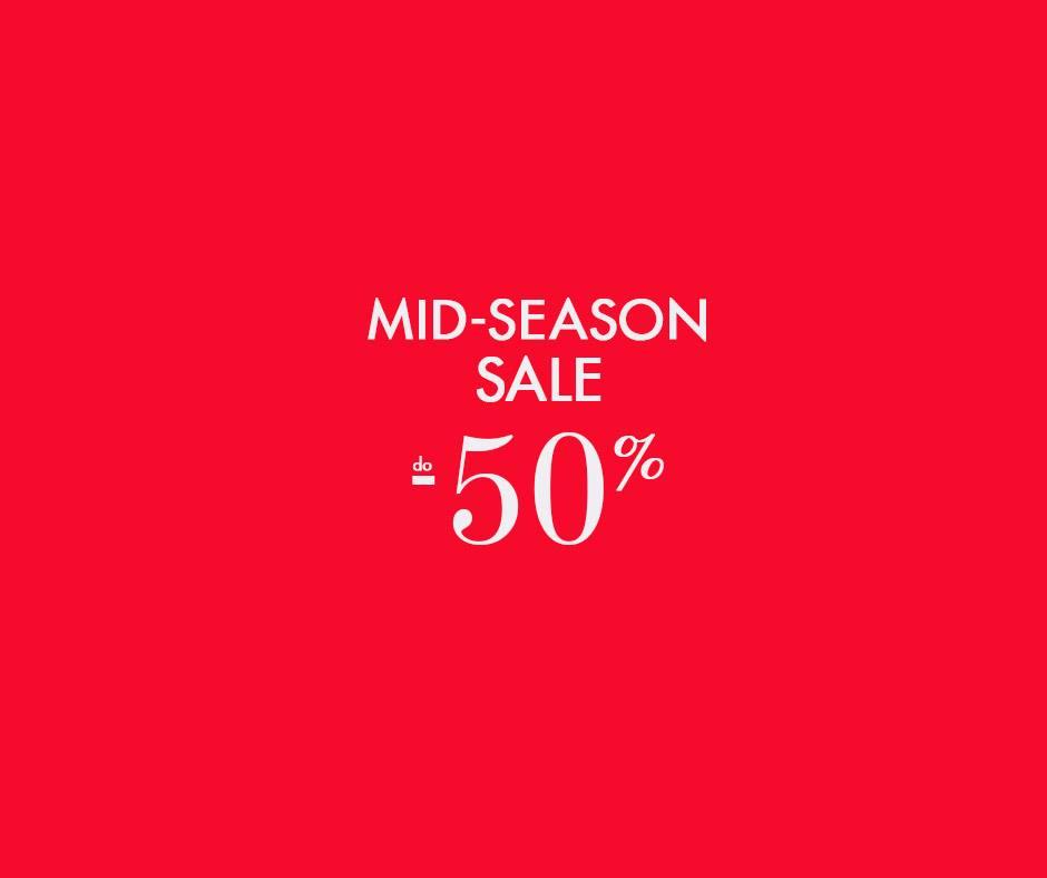 5.10.15.: Mid Season Sale do 50% zniżki