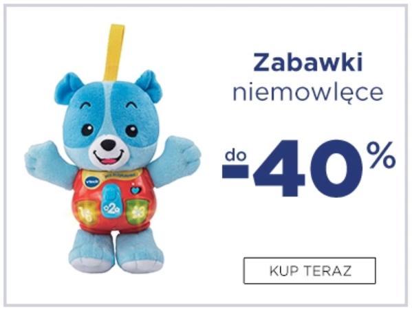 5.10.15.: do 40% rabatu na zabawki niemowlęce