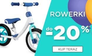 5.10.15.: do 20% zniżki na rowerki dla dzieci