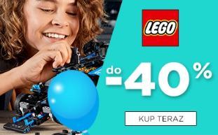 5.10.15.: do 40% rabatu na klocki Lego