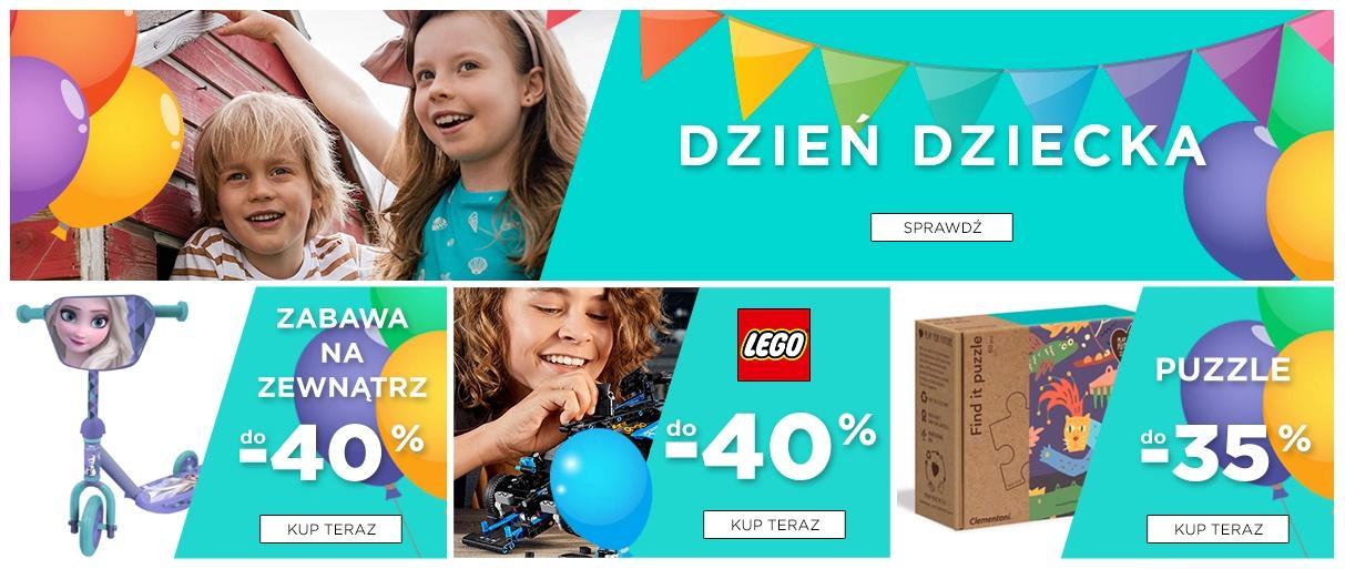 5.10.15.: do 40% rabatu na zabawki dla dzieci z okazji Dnia Dziecka