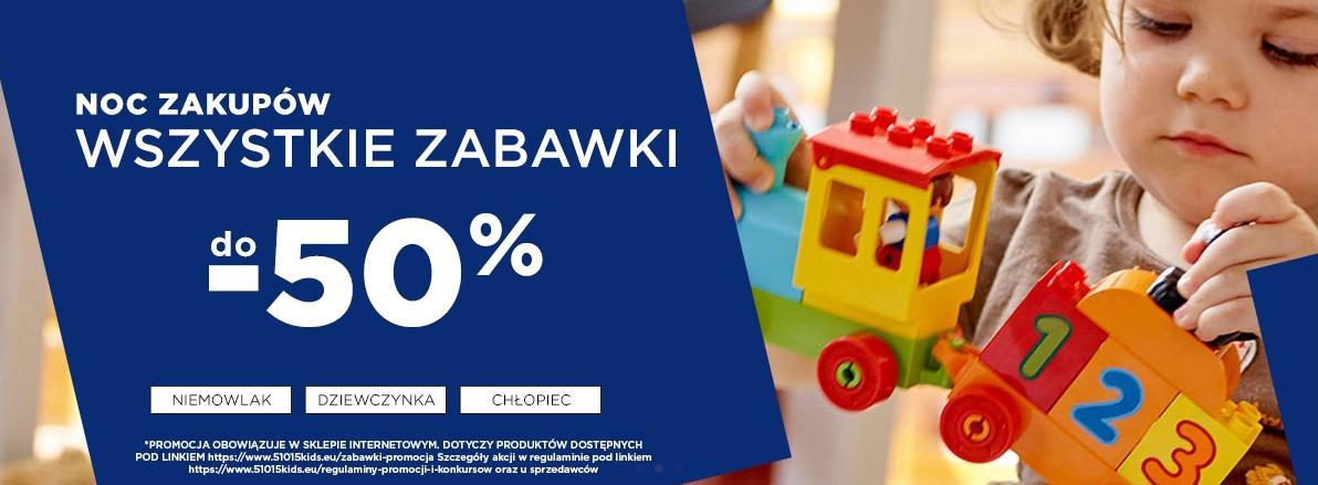 5.10.15.: do 50% rabatu na zabawki