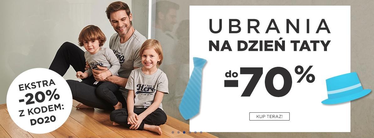 5.10.15.: dodatkowe 20% zniżki na ubrania na Dzień Taty