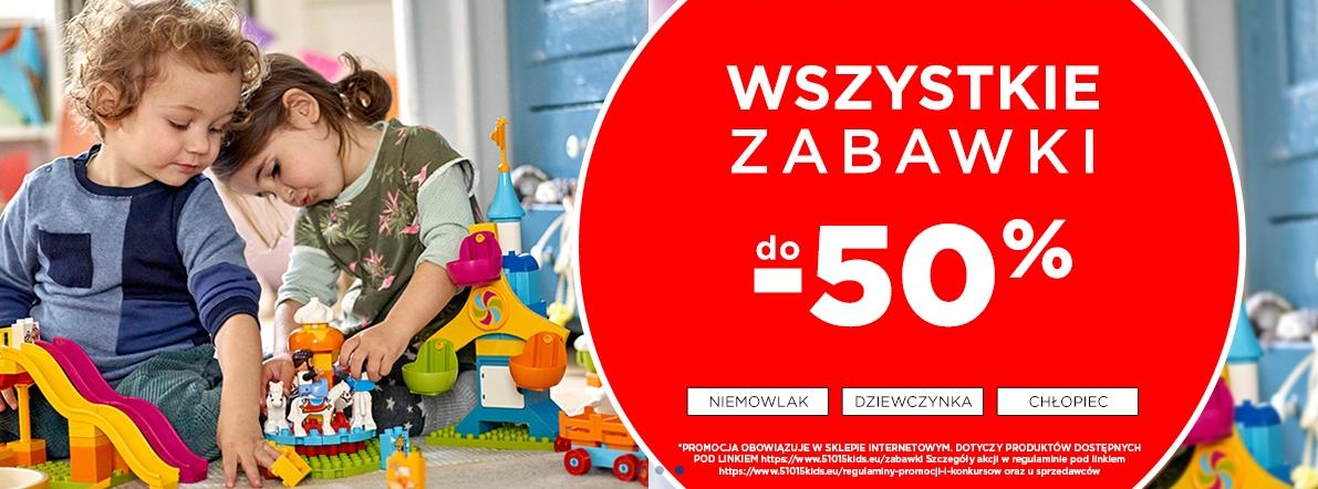 5.10.15. 5.10.15.: do 50% zniżki na wszystkie zabawki dla dzieci - prezenty na Dzień Dziecka