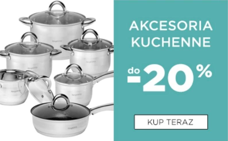 5.10.15. 5.10.15.: do 20% rabatu na akcesoria kuchenne