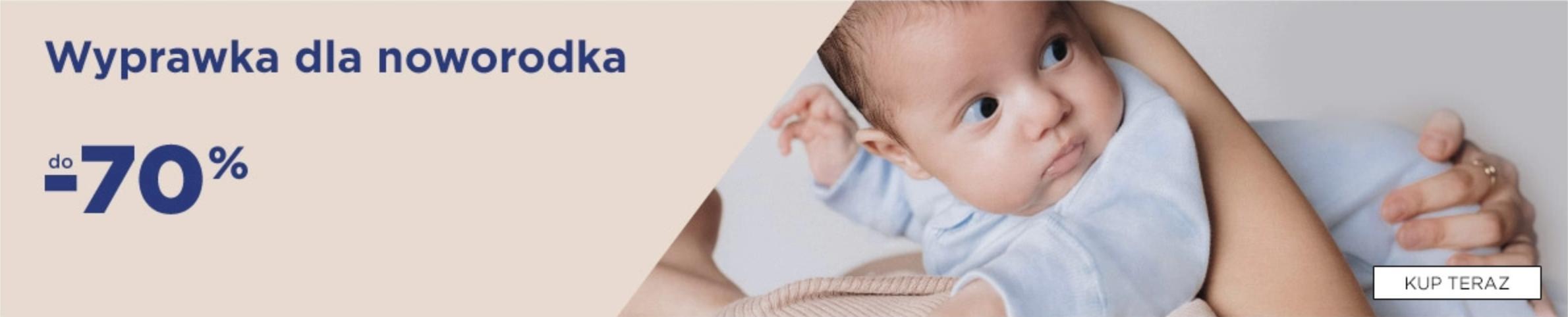 5.10.15.: do 70% rabatu na wyprawkę dla noworodka