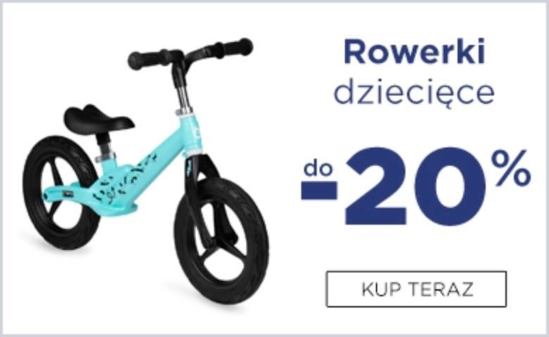 5.10.15. 5.10.15.: do 20% zniżki na rowerki dziecięce