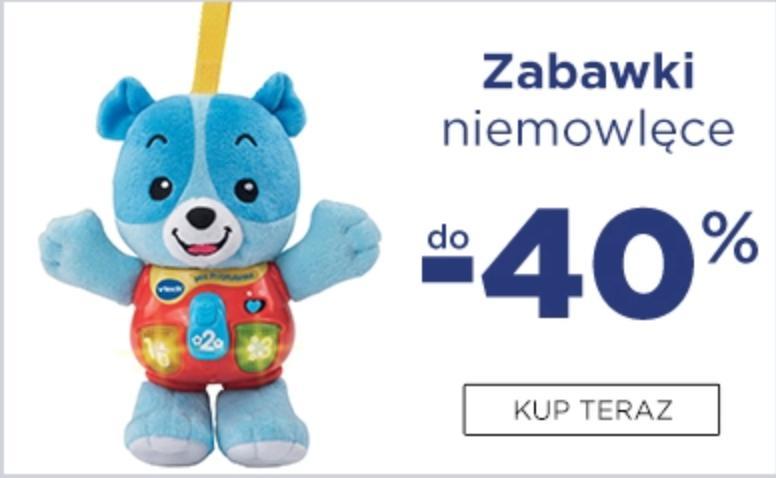 5.10.15. 5.10.15.: do 40% zniżki na zabawki niemowlęce