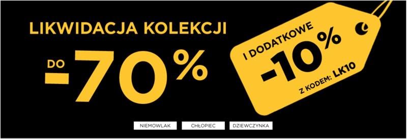 5.10.15.: do 70% i dodatkowe 10% zniżki na odzież dziecięcą                         title=