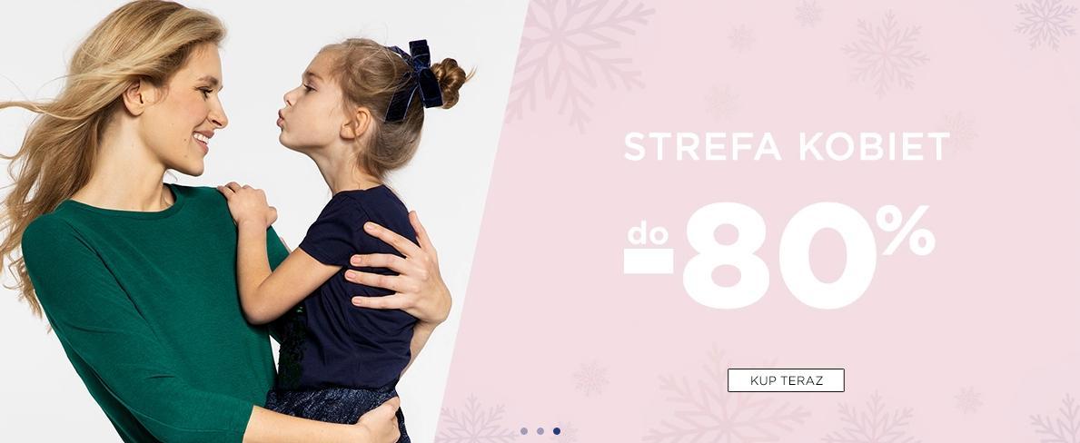 5.10.15.: wyprzedaż do 80% zniżki na odzież damską znanych marek - strefa kobiet