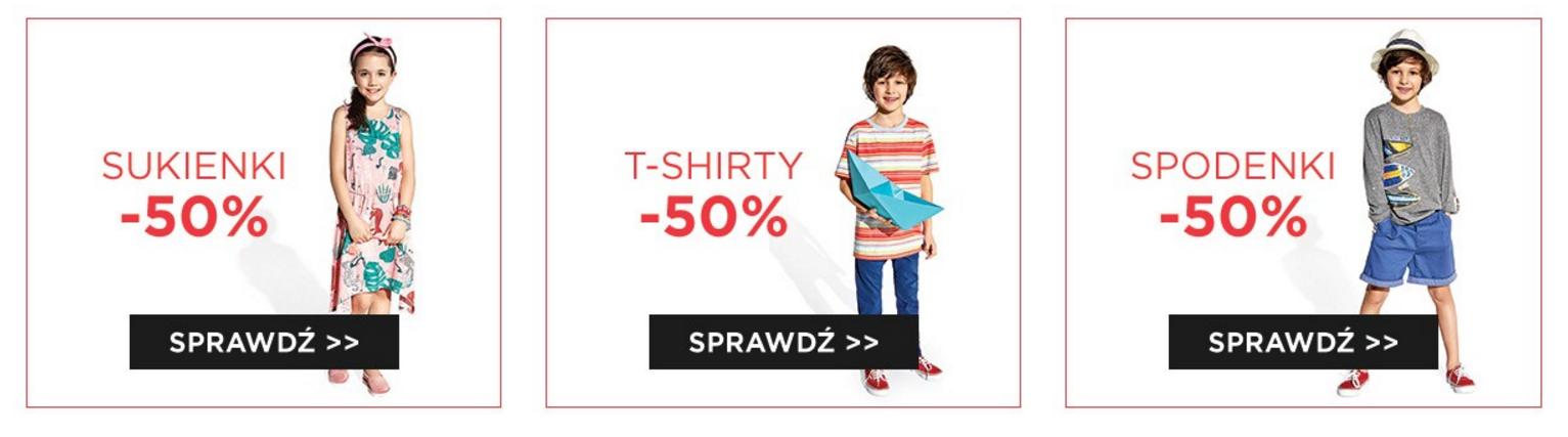 5.10.15.: 50% rabatu na sukienki, t-shirty i spodenki z okazji Dnia Dziecka