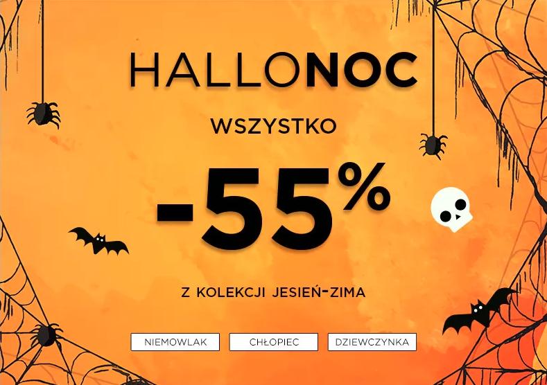 5.10.15. 5.10.15.: HalloNoc 55% zniżki na wszystko z kolekcji jesień-zima 2019