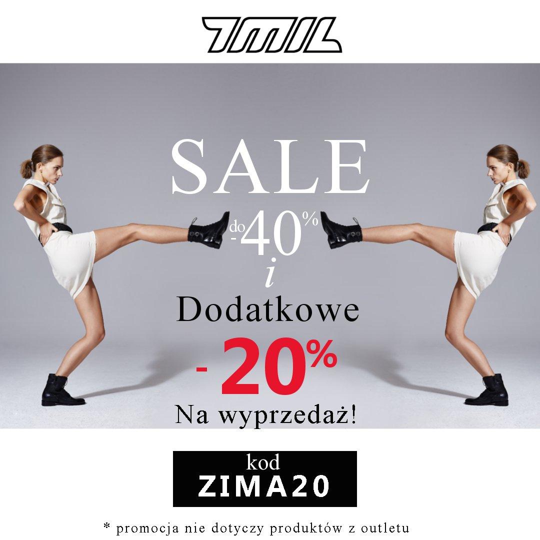 7mil: dodatkowe 20% rabatu na wyprzedaż butów damskich
