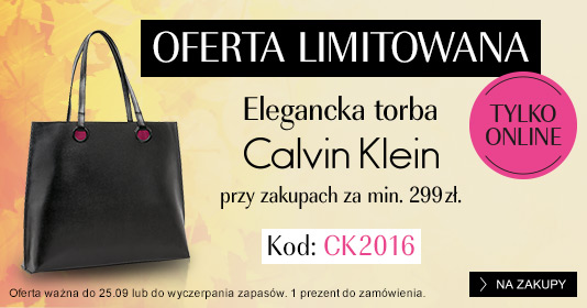 Douglas: Elegancka Torba Calvin Klein przy zakupach za min. 299 zł