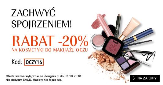 Douglas: 20% rabatu na kosmetyki do makijażu oczu
