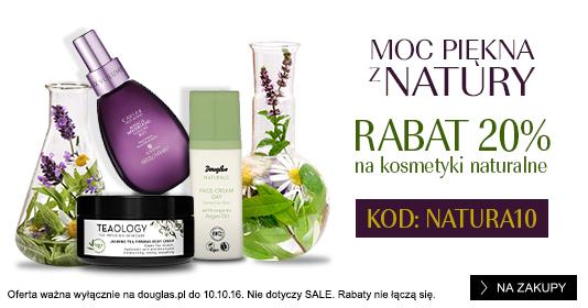 Douglas: 20% zniżki na kosmetyki naturalne