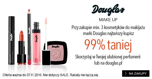 Douglas: 99% zniżki na trzeci produkt