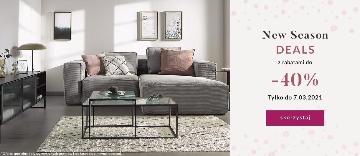 9design: do 40% rabatu na produkty do domu - m.in. meble, dodatki oraz lampy