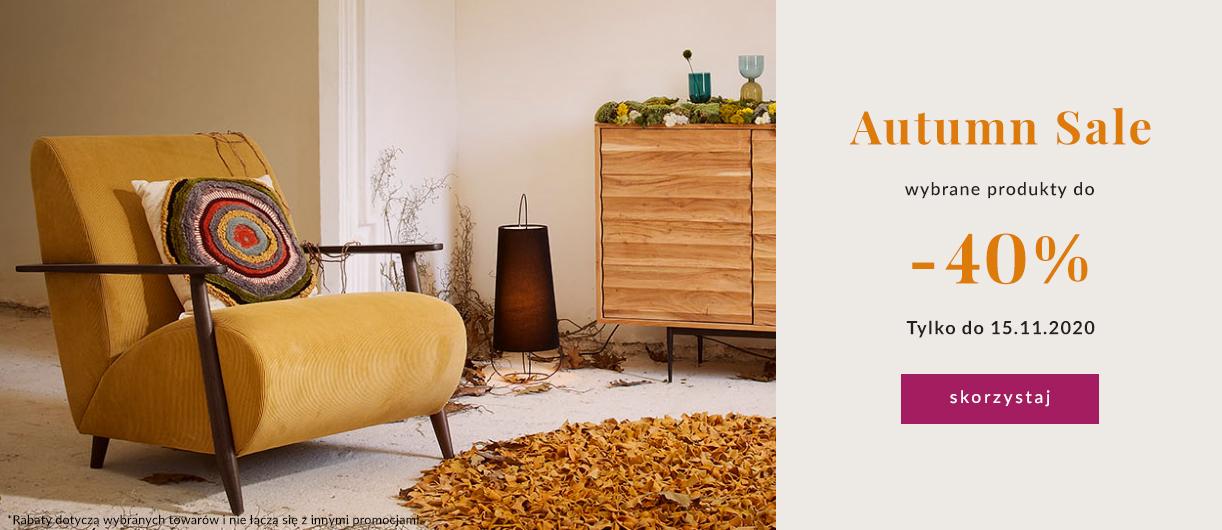 9design: jesienna wyprzedaż do 40% zniżki na wybrane meble, lampy i dodatki do domu