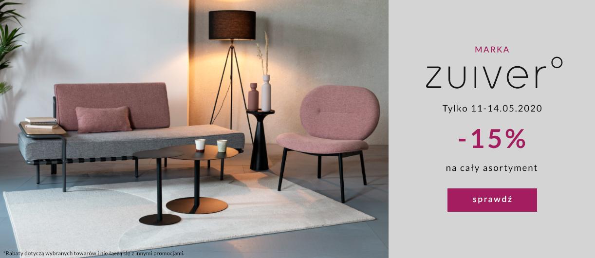 9design: 15% zniżki na meble, lampy i dodatki marki Zuiver