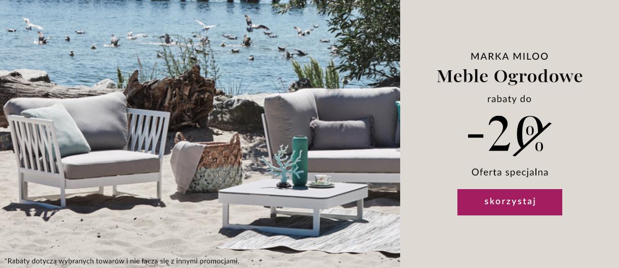 9design: do 20% zniżki na meble ogrodowe marki Miloo