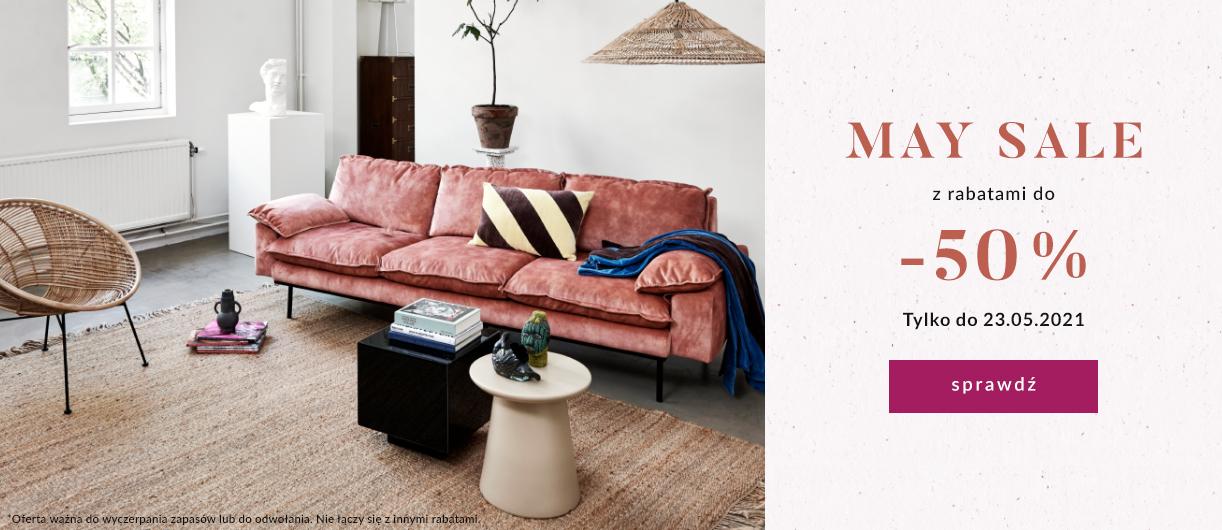 9design: wyprzedaż do 50% zniżki na meble, lampy oraz inne wyposażenie wnętrz