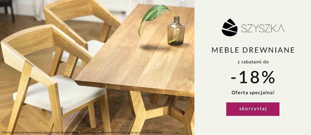 9design: 18% zniżki na meble drewniane marki Szyszka