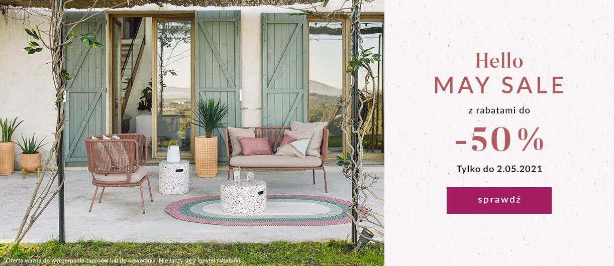 9design: wyprzedaż do 50% rabatu na meble oraz wyposażenie wnętrz - Hello May Sale