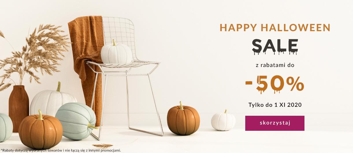 9design: wyprzedaż z okazji Halloween 50% rabatu na meble, lampy i dodatki do domu