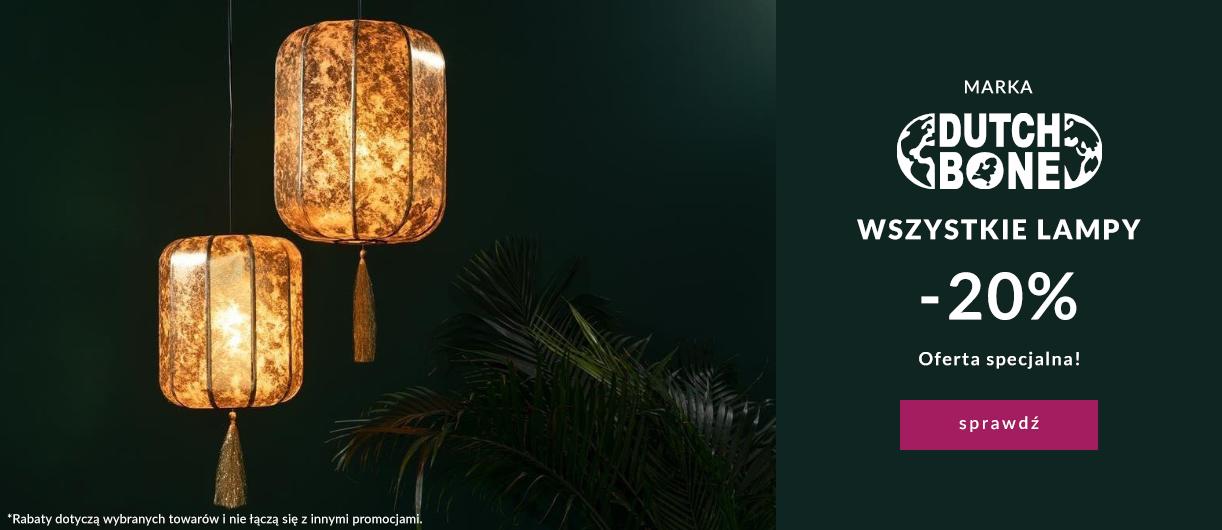9design 9design: 20% zniżki na wszystkie lampy marki Dutchbone