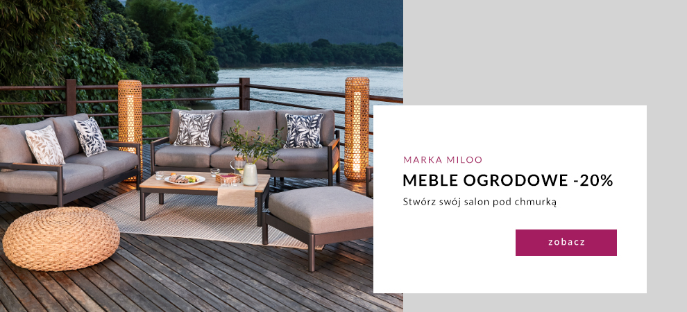 9design: 20% rabatu na meble ogrodowe marki Miloo