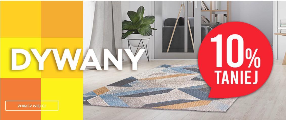 Abra Meble: 10% rabatu na dywany