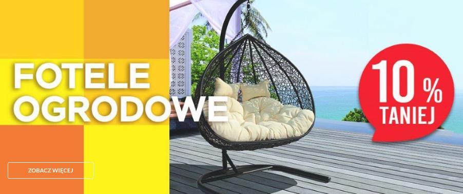 Abra Meble: 10% rabatu na fotele ogrodowe