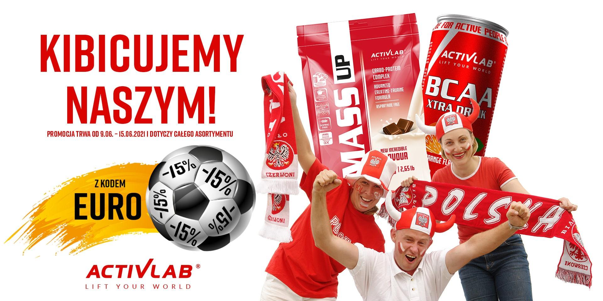ActivLab: 15% zniżki na odżywki oraz suplementy diety dla sportowców i osób aktywnych
