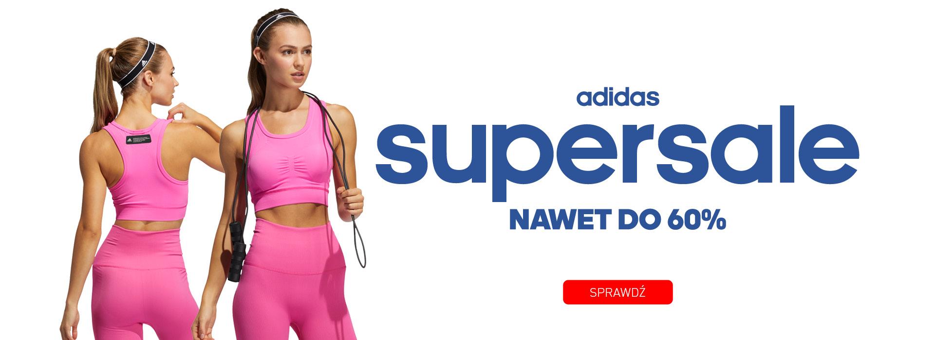 Adrenaline: wyprzedaż do 60% rabatu na odzież sportową marki adidas
